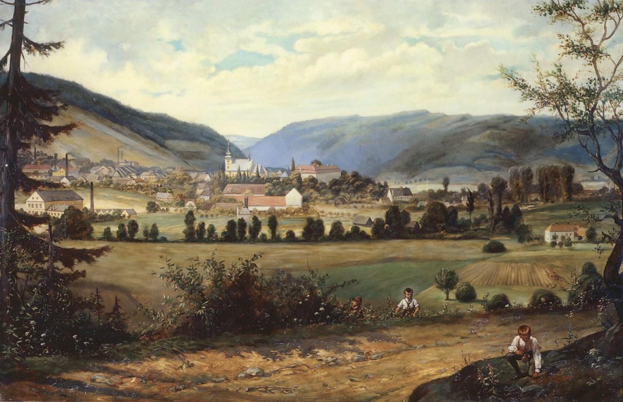 Obraz Oder z roku 1895